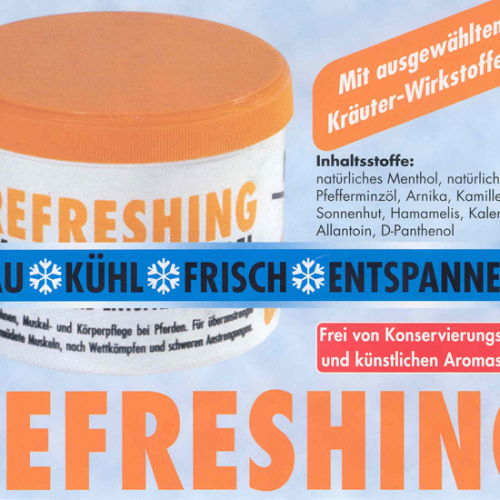 Refreshing Massage - Pferdebalsam
